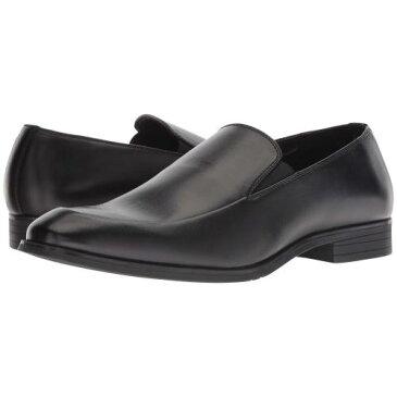 バン トム 黒 ブラック メンズ 男性用 靴 メンズ靴 ローファー 【 BLACK VAN HEUSEN TOM 】