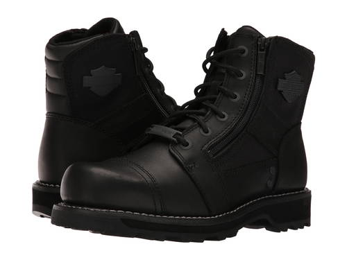 黒 ブラック メンズ 男性用 メンズ靴 靴 【 BLACK HARLEYDAVIDSON BONHAM 】
