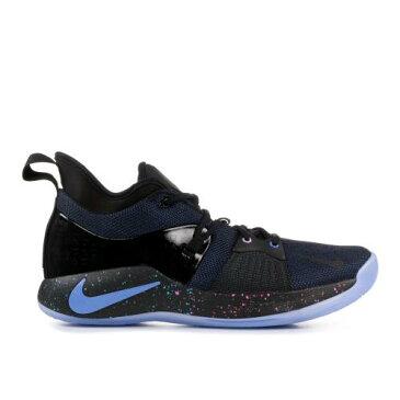 ナイキ 青 ブルー メンズ 男性用 スニーカー メンズ靴 靴 【 NIKE BLUE PG 2 PLAYSTATION BLACK RACER 】