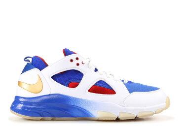 【エントリーで全商品ポイント10倍1/9 20:00-1/16 01:59迄】ナイキ ズーム ハラチ ティーアール ロー メンズ 男性用 靴 メンズ靴 スニーカー 【 NIKE ZOOM HUARACHE TR LOW PREM MANNY PACQUIAO WHITE MTLLC GLDVRSTY RYL MP 】
