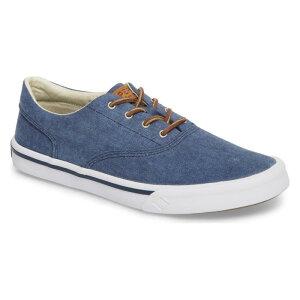 スニーカー 紺 ネイビー ファブリック 'STRIPER LL' シューズ 靴 メンズ靴 【 NAVY SPERRY SNEAKER FABRIC 】