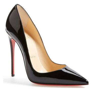 トー ポンプ 黒 ブラック 'SO KATE' シューズ パンプス 靴 レディース靴 【 PUMP BLACK CHRISTIAN LOUBOUTIN POINTY TOE 】