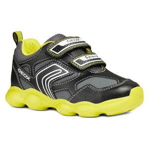 d382742144f0a スニーカー ブラック 黒 ライム シューズ 靴 ベビー マタニティ キッズ   GEOX MUNFREY SNEAKER BLACK LIME    ブランド名GEOX商品名スニーカー ブラック 黒 ライム ...