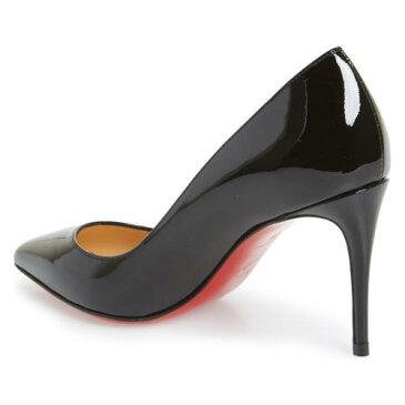 トー ポンプ 黒 ブラック シューズ 靴 パンプス レディース靴 【 PUMP BLACK CHRISTIAN LOUBOUTIN PIGALLE FOLLIES POINTY TOE 】