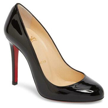 ポンプ 黒 ブラック シューズ 靴 パンプス レディース靴 【 PUMP BLACK CHRISTIAN LOUBOUTIN FIFILLE 】