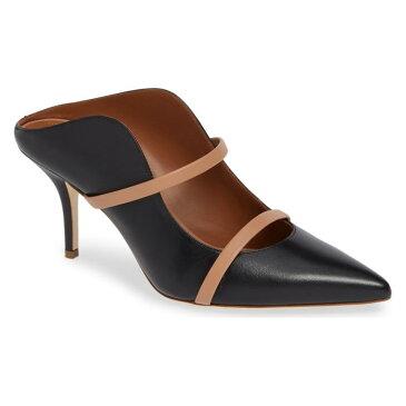 ロイ ダブル バンド ブラック 黒 茶 ブラウン シューズ パンプス レディース靴 靴 【 MALONE SOULIERS BY ROY LUWOLT MAUREEN DOUBLE BAND MULE BLACK BROWN 】