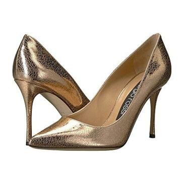 ローザ ラメ レディース 女性用 靴 パンプス レディース靴 【 SERGIO ROSSI GODIVA ORO ROSA CRACK LAME 】