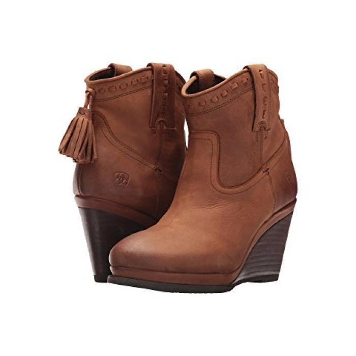 レディース 女性用 ブーツ メンズ靴 【 ARIAT BROADWAY TRENDY TAWNY 】
