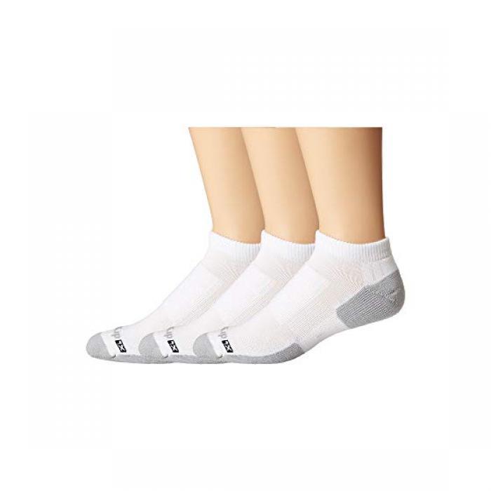靴下・レッグウェア, 靴下  DRYMAX SPORT WALKING MINI CREW 3PAIR PACK WHITE GREY