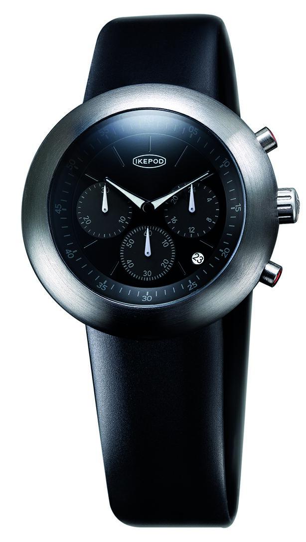 腕時計, メンズ腕時計 IKEPOD Chronopod 007 Black PPK IPC007SILB
