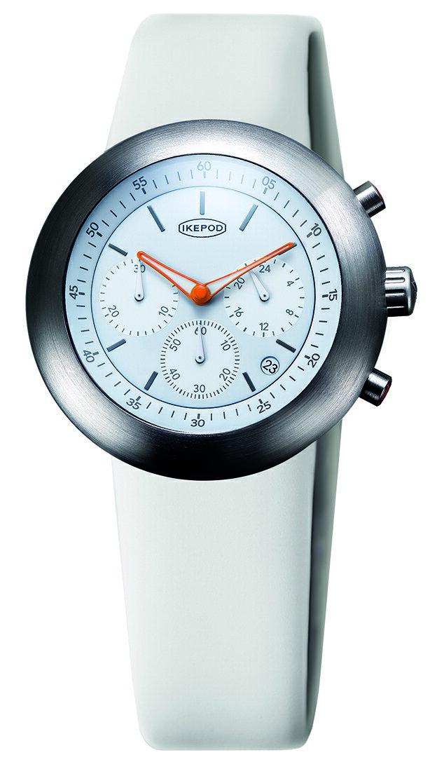 腕時計, メンズ腕時計 IKEPOD Chronopod 013 White Horses IPC013SILW