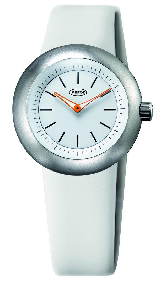 腕時計, メンズ腕時計 IKEPOD Duopod 016 White Lines IPD016SILW