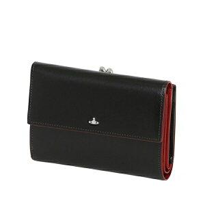 8171c59c3692 ヴィヴィアン・ウエストウッド(Vivienne Westwood). ヴィヴィアンウエストウッド Vivienne Westwood 財布  SIMPLE TINY ORB 二つ折り財布 がま口 ブラック
