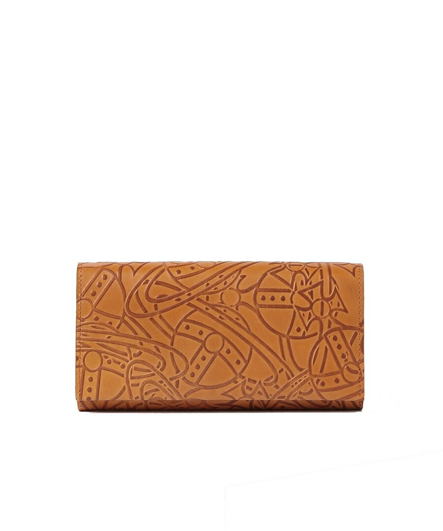 VivienneWestwood(ヴィヴィアン・ウエストウッド)『エンボスORB長財布(3118K30)』