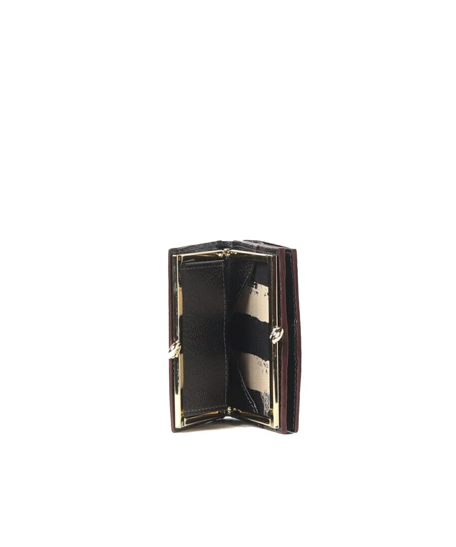 VivienneWestwood(ヴィヴィアン・ウエストウッド)『EXECUTIVE口金二つ折りミニ財布(3218C9K)』