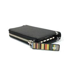 ポールスミス財布メンズPaulSmithジップストローグレインキーケース全4色