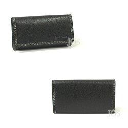 ポールスミス財布メンズPaulSmithピッグスキン4連キーケースブラック送料無料代引き料有料消費税込