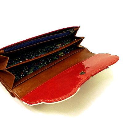 b12c30839c77 ... アナスイ ANNA SUI 財布 さいふ レディバグ がま口 かぶせ 長財布 全3色 新作 ...