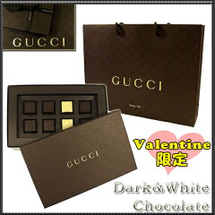 【gucci限定チョコ】2014新作送料・消費税込み!グッチ GUCCI ダーク&ホワイトチョコレート 8...