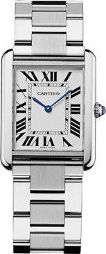 カルティエ CARTIER 時計 タンクソロ LM スティール 腕時計