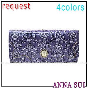 アナスイ ANNA SUI 財布 バッグ アクセサリー ポーチ ルーミー 外がま口 長財布 全…