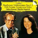 ベートーヴェン:ヴァイオリン・ソナタ第1番〜第3番/アルゲリッチ(マルタ)[SHM-CD]【返品種別
