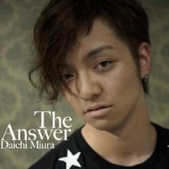 【送料無料】The Answer(DVD付)/三浦大知[CD+DVD]【返品種別A】【smtb-k】【w2】