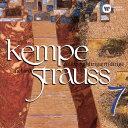 R.シュトラウス:ヴァイオリン協奏曲 家庭交響曲/ケンペ(ルドルフ)[CD]【返品種別A】
