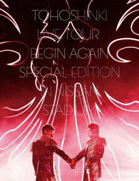 【送料無料】[枚数限定][限定版]東方神起LIVE TOUR 〜Begin Again〜 Special Edition in NISSAN STADIUM【初回生産限定盤/DVD3枚組】/東方神起[DVD]【返品種別A】