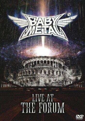 邦楽, ヘビーメタル・ハードロック LIVE AT THE FORUMDVDBABYMETALDVDA