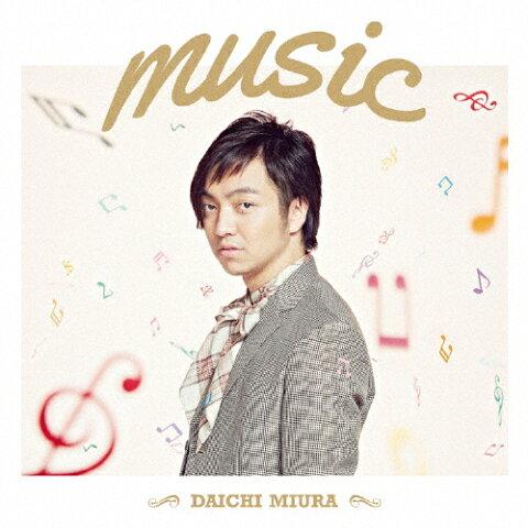 music(Music Video盤)/三浦大知[CD+DVD]【返品種別A】