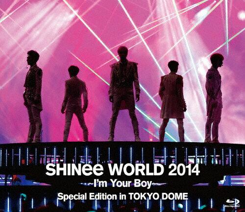 韓国(K-POP)・アジア, 韓国(K-POP)・アジア SHINee WORLD 2014 Im Your Boy Special Edition in TOKYO DOMESHINeeBlu-rayA