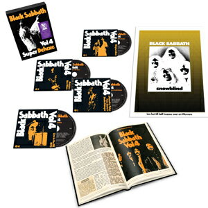 洋楽, ヘビーメタル・ハードロック VOL.4 DELUXE 4CD BOX SET BLACK SABBATHCDA