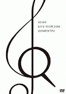 邦楽, ロック・ポップス NEWS LIVE TOUR 2016 QUARTETTONEWSDVDA