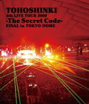 【送料無料】4th LIVE TOUR 2009-The Secret Code-FINAL in TOKYO DOME/東方神起[Blu-ray]【返品種別A】