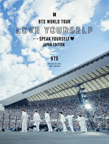 邦楽, その他 BTS WORLD TOURLOVE YOURSELF:SPEAK YOURSELF-JAPAN EDITION()Blu-rayBTSBlu-rayA