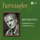 ベートーヴェン:交響曲第2番&第4番/フルトヴェングラー(ヴィルヘルム)[HybridCD]【返品種