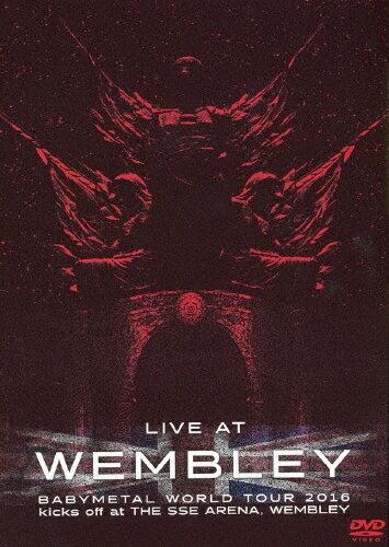 邦楽, ヘビーメタル・ハードロック LIVE AT WEMBLEYBABYMETAL WORLD TOUR 2016 kicks off at THE SSE ARENA,WEMBLEYBABYMETALDVDA