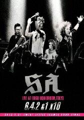 【送料無料】6.4.2&1×10/SA[DVD]【返品種別A】【smtb-k】【w2】