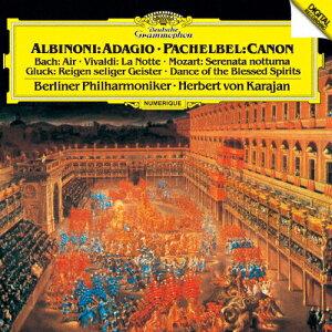 アルビノーニのアダージョ/パッヘルベルのカノン 他/ベルリン・フィルハーモニー管弦楽団[SHM-CD]【返品種別A】