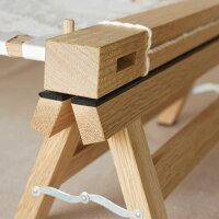 オーク無垢材を使用した刺繍枠の脚Oak
