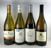 送料無料 アメリカ シャルドネ 白ワイン飲み比べ 4本セット