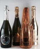 送料無料 イタリア辛口スプマンテ スパークリングワイン 飲み比べ 4本セット