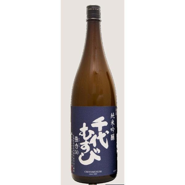 千代むすび 純米吟醸 強力 50 1800ml 【鳥取県/千代むすび酒造】
