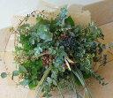 ブーケ・グラスグリーン【季節のグリーンや実物だけを束めました。ボリューム一杯で長持ちしま...