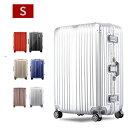 スーツケース キャリーケース キャリーバッグ sサイズ 軽量 アルミフ...
