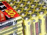単三乾電池全部コミコミ単3形 単3 アルカリ 乾電池 40本セット代金引換不可【送料無料】