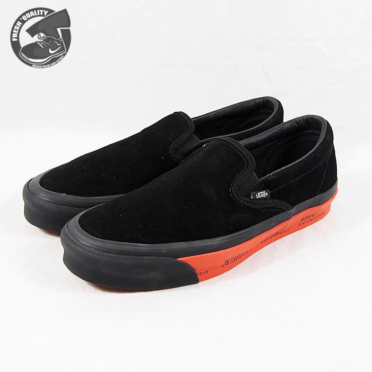 メンズ靴, スニーカー VN0A45JK20E VANS WTAPS X OG CLASSIC SLIP-ON (WTAPS)GPSBLACKORANGE X OG