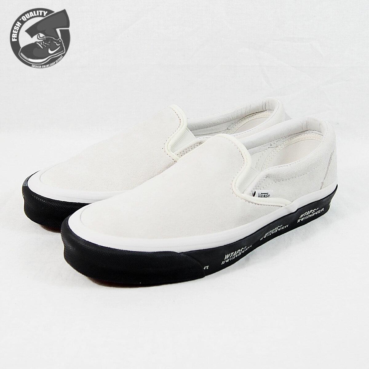 メンズ靴, スニーカー VN0A45JK20F VANS WTAPS X OG CLASSIC SLIP-ON (WTAPS)GPSWHITEBLACK X OG