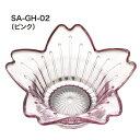 サクラホルダー/キャンドルホルダー/ピンク【パルマート】